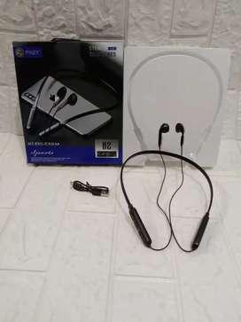 PROMO NI - HEADSET HEAD SET HF EARPHONE PINZY B 2 BLUETOOTH NO KARET