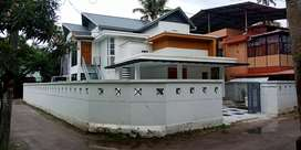 Kollam College junction Near S P office 8 cent land 2600 sqrf house