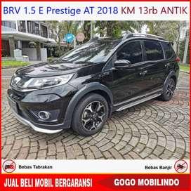 Honda BRV Prestige at 2018 KM 13rb ANTIK Bisa Kredit