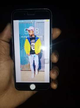 I phone 6!64 with best condition and first owner me one hand phone wit