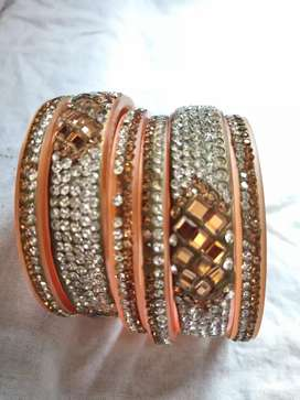 Diamond bangles party wear