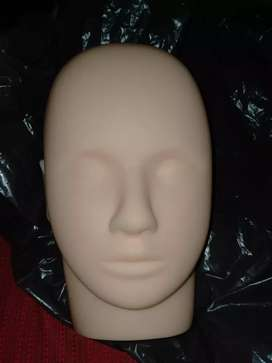 Face makeup dummy branded soft material