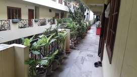 2Bhk flat with complete woodwork for rent