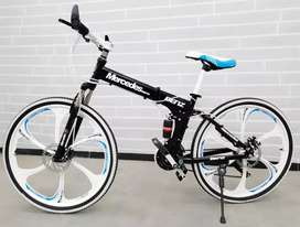 Mercedes foldable bicycle with 21 shimano gears
