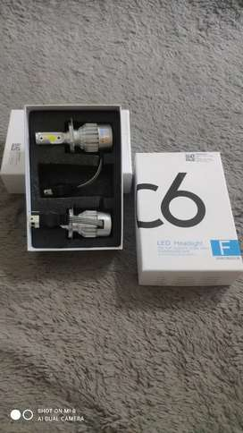 Penawaran spesial, Lampu LED H4 & h11, cod free ongkir banda aceh
