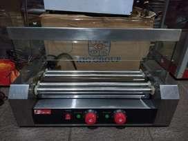 Pemanggang hot dog electric