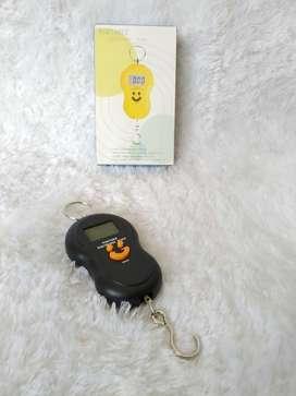 PROMO - Timbangan Gantung Mini Digital Portable Electronic Scale Smile