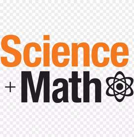 -Personal tuition maths and science for std.6 to10