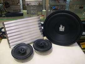 ( paketan power DHD + sub pca + speaker nakamichi )