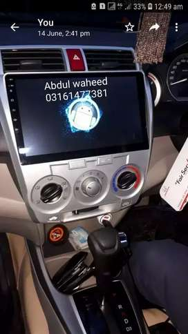 Honda City Android panel with  free installation in lahore