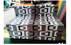 Latest Design & Brand New Foldable Sofa Cum Bed at Factory Rates