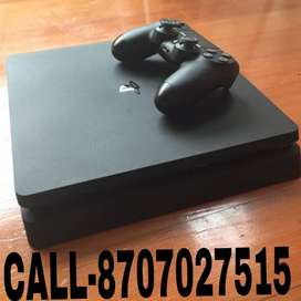 PS4 1TB Slim New Condition With 15-20 Games nd One Original Controller