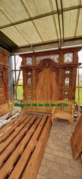 cuci gudang pintu gebyok gapuro jendela rumah masjid musholla uwan