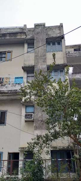 Flat 3 bhk near to model town in 15 lac only