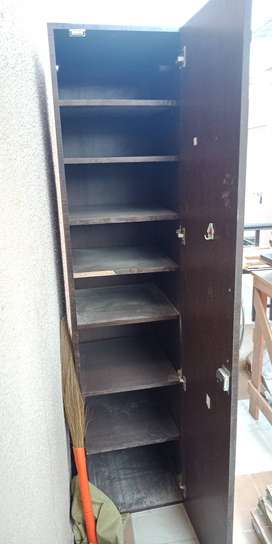 Wardrobe with mirror in good condition