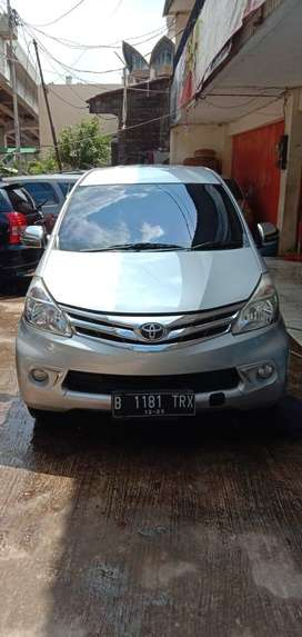 Toyota Avanza 2013 G manual