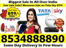 Mega Offer On Tata Sky, Dish tv, Airtel Tv, Tatasky (Free Fire Stick)!