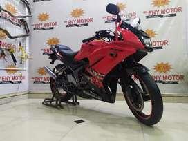 Siap pakai Kawasaki Ninja KRR th 2013 Merah - Eny Motor