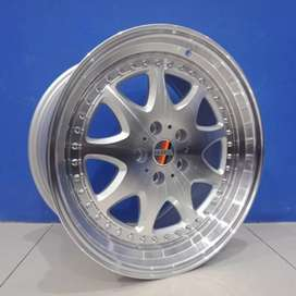 Pelek mobil racing Hsr Bavaria r18 mercy,crh,hrv,Camry,Civic dll
