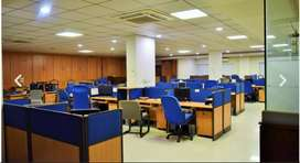 14000 Sq Ft Semi Furnished Office Space For Rent in Blue area