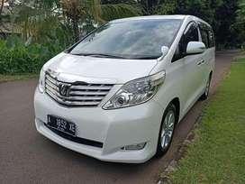 Toyota Alphard 2,4 Premium Sound