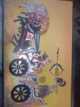 Lukisan Wayang.