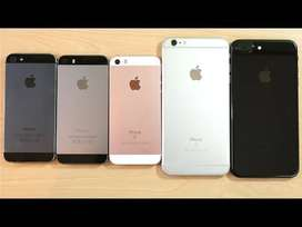 <iPhone 5s - X all models unsed fresh condition price starts 6999/->