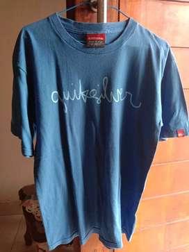 Tshirt quicksilver size  xl