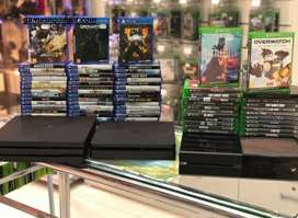 all types of consoles available with all accesories for best price .