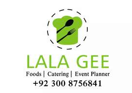 LALA GEE Live Food stalls