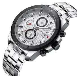 Jam tangan CURREN Pria Casual Fashion Chronograph