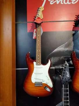 Cicilan Tanpa Kartu Kredit Fender Guitar STD Strat Plus Top