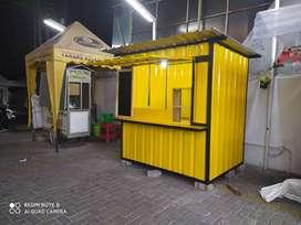Rombong kontainer murah, kontainer surabaya