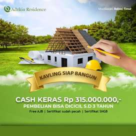 Tanah dijual Rawalumbu Kota Bekasi