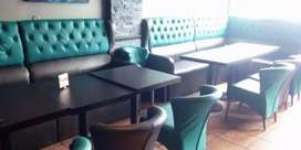 Full furnished Cafe/Restaurant/Hookah Parlour on main rd on Em Bypass