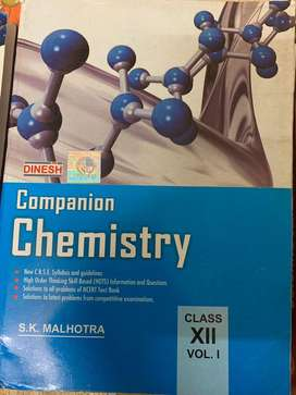 Class 12 Chemistry by Dinesh