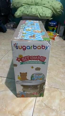 Sugar baby SitOnMe Tempt duduk makan anak