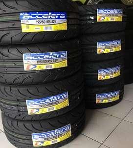 Jual ban mobil semi slick ukuran 195 50 R15 accelera 651 sport