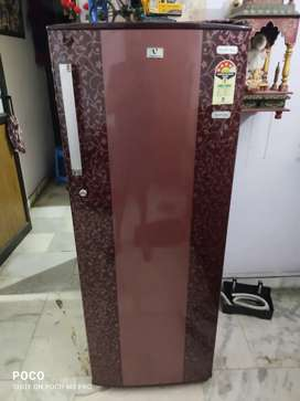 A 307 Litre Videocon 4 star refrigerator available for immediate sale