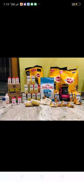 Dog food cat food bird n fish food medicine and accessories available