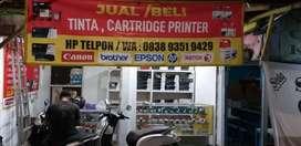 Isi ulang toner cuma 50rb,siap tampung tinta cartridge printer