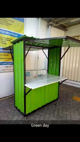Booth container mini 120x60x180