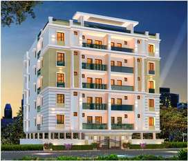 1643 Sft 3BHK Flats are available for sale at Brindavan Colony