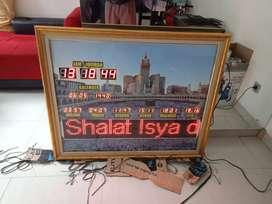 Jam waktu sholat digital