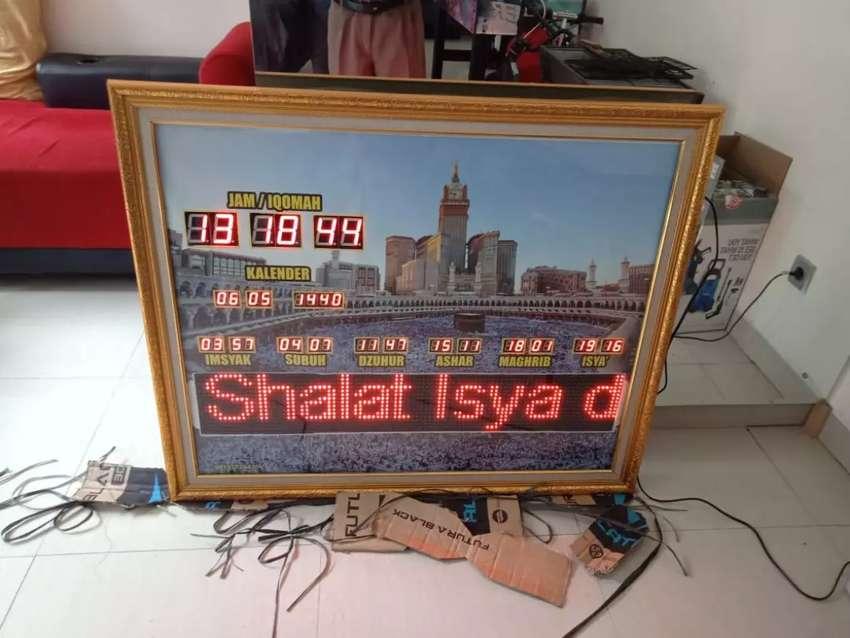 Jam waktu sholat digital 0