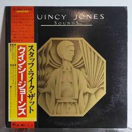 Quincy Jones - Sounds / LP Vinyl / Jazz - Funk / A&M / Piringan Hitam