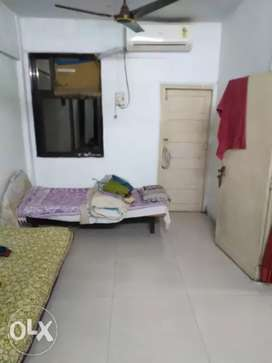 1Room with attached bathroom