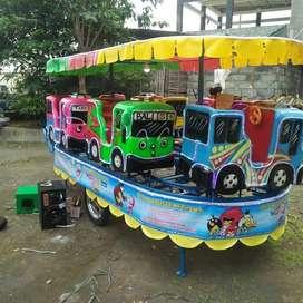 karet lokomotif loko odong odong AR kereta panggung tayo