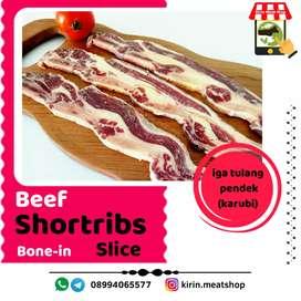 Beef shortplate slice/ sapi slice
