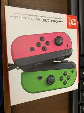 Nintendo Switch neon joycons